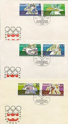 East Germany 1970-79 Illus Fdcs Virtually Complete (425)