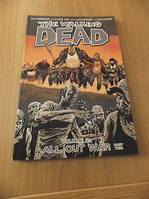 The Walking Dead vol volume 21 graphic novel - All Out War Part Two