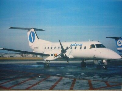 Carte postale SABENA Embraer 120 RT