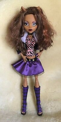 """Monster High 17"""" Large Clawdeen Wolf Doll"""
