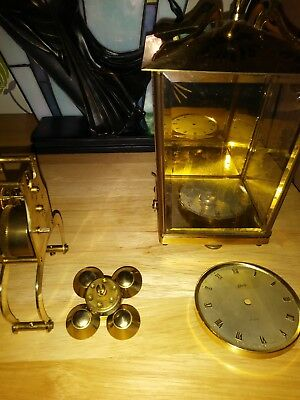 vintage schats 400 day clock parts