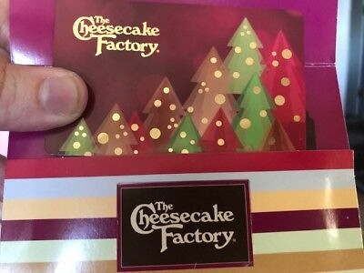 $30 The Cheesecake Factory Gift Card