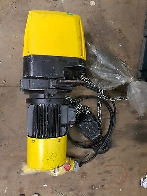 MORRIS 1TON  3phase 415v Electric chain Hoist TYPE S3-050