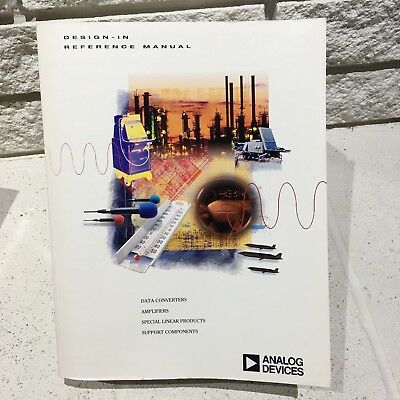 Vintage Analog Devices 1996 Designers Design-In Reference Manual Data Book