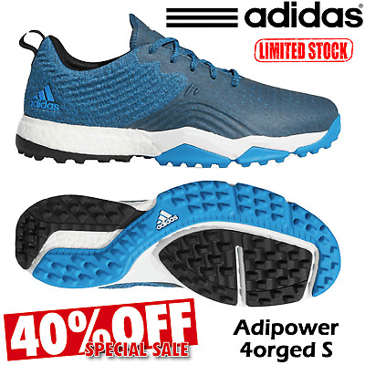Mens Adidas Golf Shoes Adidas Adipower 4Orged S Golf New 2019 Spikeless 40% Off