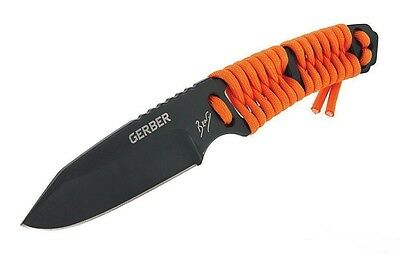 "Gerber Bear Grylls Paracord Fixed Blade Survival Knife with Sheath 7.75"" / 20 cm"