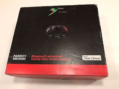 Complete Boxed Parrot MKi9000 Bluetooth HandsFree Car Kit v2.20