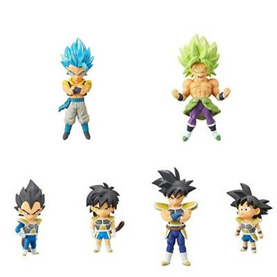 PSL Movie DRAGON BALL SUPER :BROLY WCF World Collectable Figure vol.3 FULL Set
