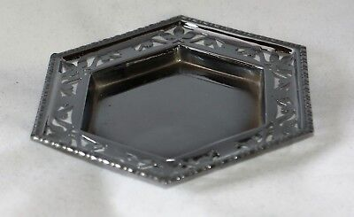 Vintage Chrome Plated  hard soldered Dish Change Tray >>>>>>>