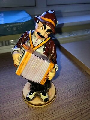 Rare Made In Occupied Japan Post War Figurine Accordion Player