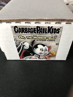 2018 Garbage Pail Kids Oh The Horror-Ible 1 Complete Set 200 Cards.