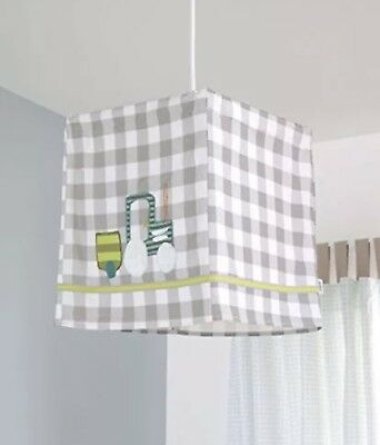 Mamas And Papas Pixie And Finch Tractor Lampshade Lantern