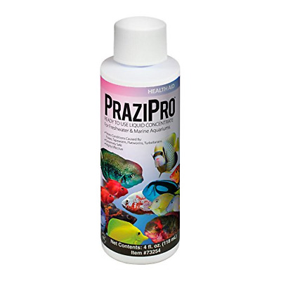 Hikari Usa AHK73254 Prazipro for Aquarium, 4-Ounce, 2-Pack