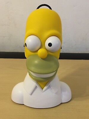COLLECTABLE, ORIGINAL.1990's .THE SIMPSONS -HOMER WESCO AM /FM RADIO -WORKING