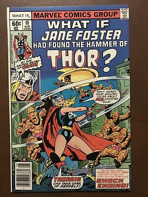 What If? #10 (Aug 1978, Marvel) Jane Foster VF+