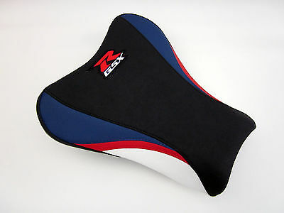 S16 Suzuki GSXR 1000 K5,K6 Red/White/Blue seat cover upgrade -FRONT