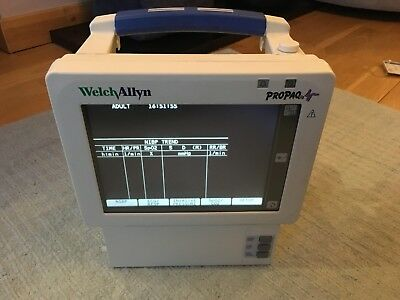 Welch Allyn ProPaq Patient Vitals Monitor – Model 244. Charity Sale. Working.