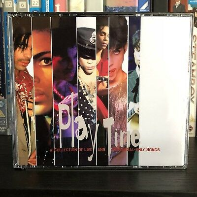 Prince Playtime 4 CD Set Live Rarities Rare And  OOP