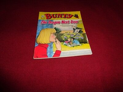 BUNTY PICTURE STORY LIBRARY BOOK from the 1980's: never been read: ex condit!
