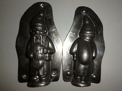 Antike Schokoladenform NIKOLAUS antique chocolate mold SANTA CLAUS LAURÖSCH 4263