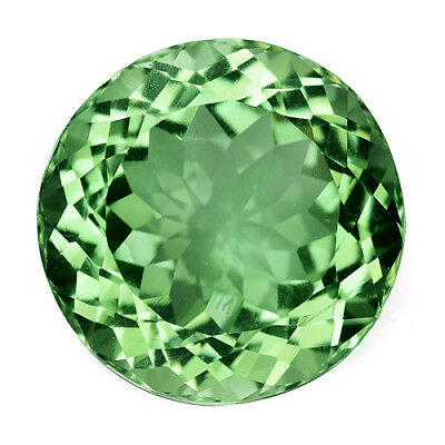 10.24Cts Natural Gorgeous Green Amethyst (Prasiolite) 14mm Round Cut Gemstone