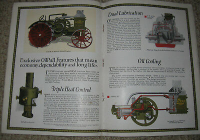 Advance-Rumely Power Farming Machinery Catalog-NO COVERS-Oil Pull Tractors, More