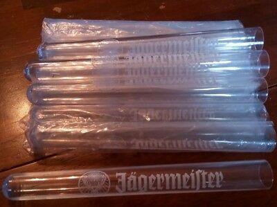 Set of (12) Jagermeister Test Tube Shooters