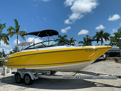1996 Powerplay 330 Sport Deck MINT MINT Always Dry-Stored Clean Boat We Export