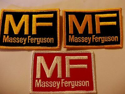 Massey Ferguson Embroidered Patches X3