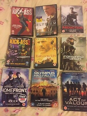 Dvds Action Joblot 10 Dvds Lot 1