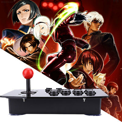 Wired USB Arcade Fighting Stick Joystick Gaming Gamepad Video Game For PC