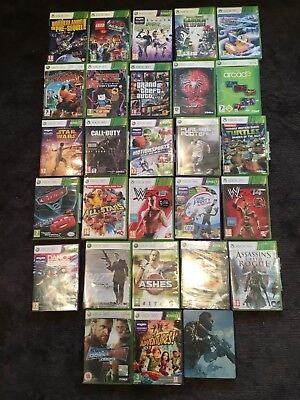 Xbox 360 Games Job Lot Bundle x28 (+ Kinect Games) - GTA V, Call of Duty,