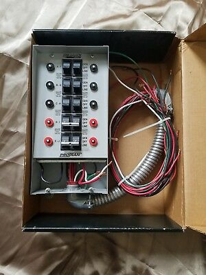 """31410Crk Reliance Indoor Transfer Switch  (30A) For Portable Generators """"as Is"""""""