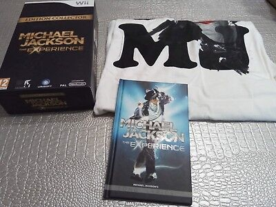 Empty Box Boite Vide Michael Jackson The Experience Nintendo Wii Collector...