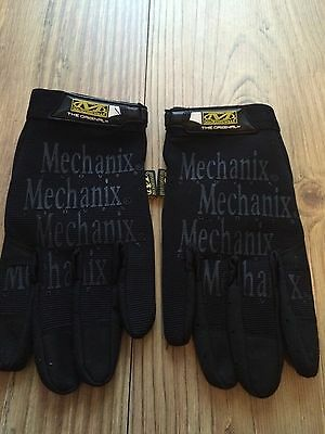 Genuine  Mechanix Gloves military Motor Sports Mechanics Hard Wearing Army LARGE