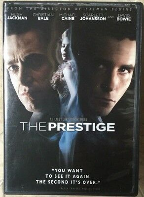 The Prestige (DVD, 2007)  Great condition & VERY FAST SHIPPING