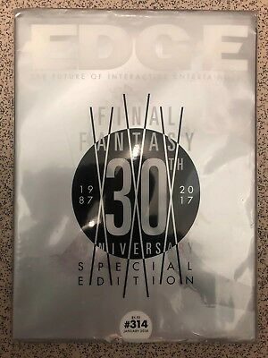 EDGE Magazine January 2018 #314 Final Fantasy 30 Anniversary COVER 6/15 SEALED