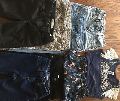 Mixed Lot Of Girls Size 10 Clothes, Justice, Old Navy, Vigoss Winter, Spring