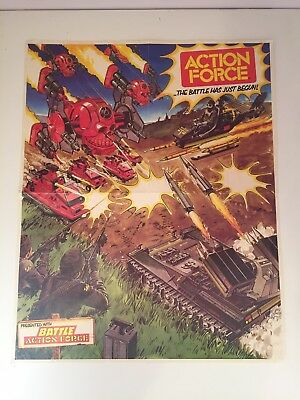 3 Action Force posters