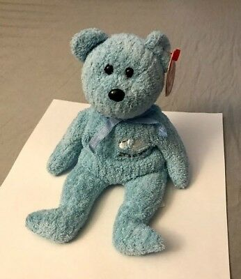 TY Beanie Baby™ Baby Boy the Bear - RARE RETIRED COLLECTIBLE