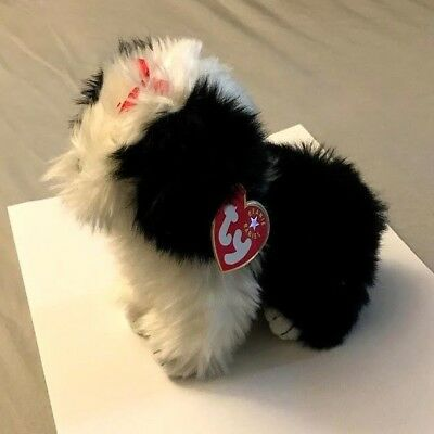 TY Beanie Baby™ Poofie the Dog - RARE RETIRED COLLECTIBLE