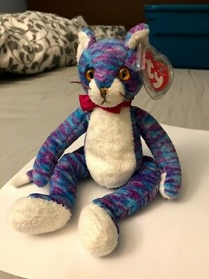 TY Beanie Baby™ Kooky the Cat - RARE RETIRED COLLECTIBLE