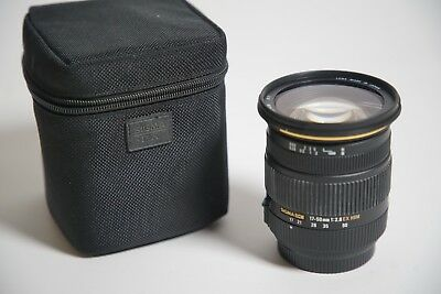Sigma 17-50mm f/2.8 EX DC OS HSM FLD Zoom Lens for Sony.