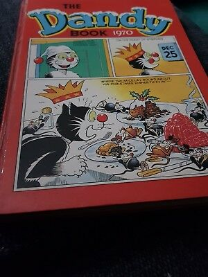 The Dandy Book 1970 X Very Good Condition X 876 X