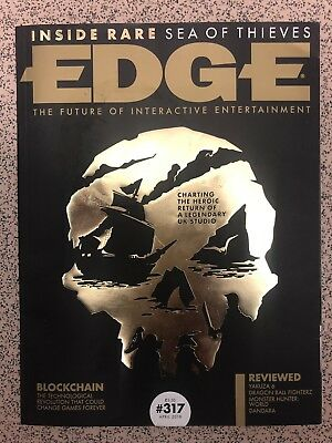 EDGE April 2018 #317 Blockchain Sea Of Thieves Yakuza 6 Dandara Dragon FighterZ