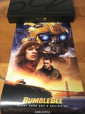 """New Transformers Bumblebee Movie Poster 2018 11"""" x 17"""""""