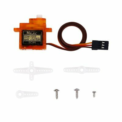 SG90 Mini Gear Micro 9g Servo For RC Helicopter Airplane Car Boat Trex 45