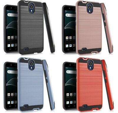 NP MET Shock Absorb Phone Cover Case For Alcatel Axia / QS5509A N5001 5509