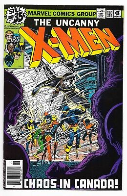 Uncanny X-Men #120 (1979) 1st Alpha Flight! KEY Book! High Grade VF+ to VF/NM NR