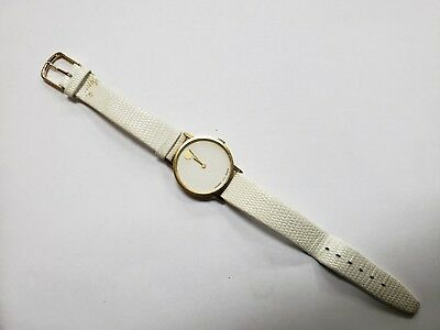 Vintage Movado G.e.p Watch With Manual Winding Zenith Movement As Is